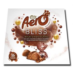 Nestlé Aero Bliss Milk Chocolate Box 142g