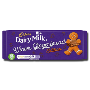 Cadbury Dairy Milk Winter Gingerbread 120g