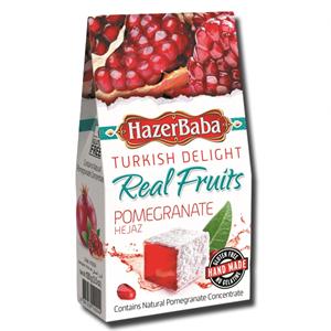 Hazerbaba Turkish Delight Pomegranate 100g