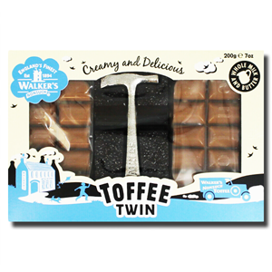 Walkers Toffee Twin Creamy & Delicious 200g
