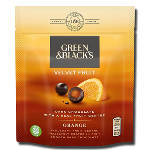 Green & Black's Dark Chocolate Orange Centre 120g