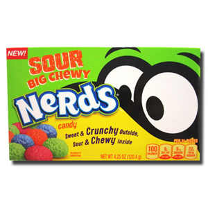 Nerds Sour Big Chewy Crunchy and Chewy 120.4g