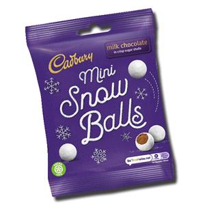 Cadbury Mini Snow Balls 80g
