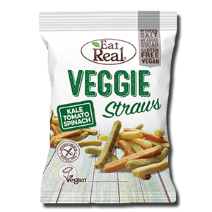 Eat Real Veggie Chips Kale Tomato Spinach 113g