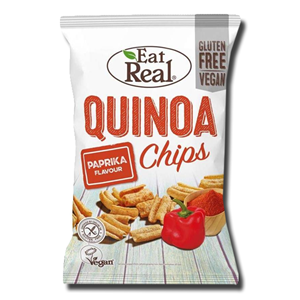 Eat Real Quinoa Chips Paprika 80g