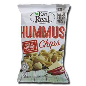 Eat Real Hummus Chips Chilli Cheese Flavour 135g