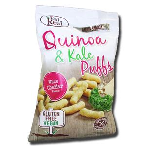 Eat Real Quinoa Corn Puffs White Cheddar 113g