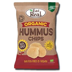 Eat Real Organic Hummus Chips Sea Salt 100g