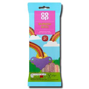 Coop Rainbow Belts 65g