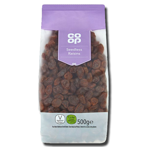 Coop Seedless Raisins 500g
