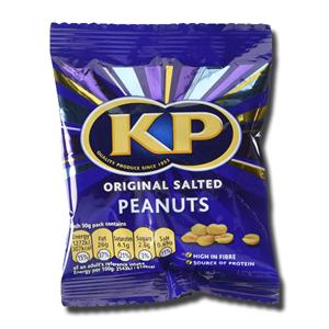 KP Original Salted Peanuts 50g
