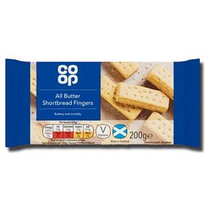 Coop Shortbread Fingers 200g