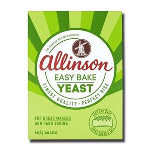 Allinson's Easy Bake Yeast 6x7g