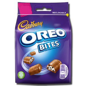 Cadbury Dairy Milk Oreo Bites Bag 95g