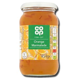 Coop Orange Marmalade Fine Cut 454g