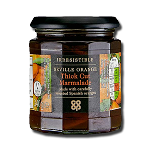 Coop Orange Marmalade Thick Cut 454g