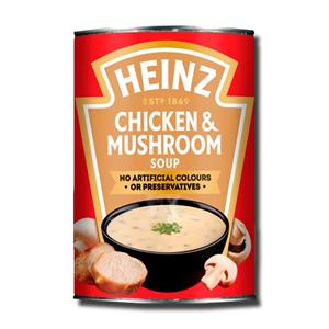 Heinz Cream Chicken & Mushroom Soup 400g