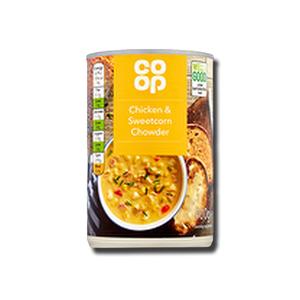 Coop Chicken & Sweetcorn Chowder 400g