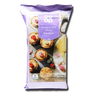 Coop Ready to Roll White Marzipan 500g