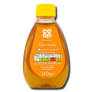 Coop Clear Honey 340g