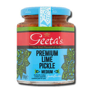 Geeta's Lime Pickle Medium 190g