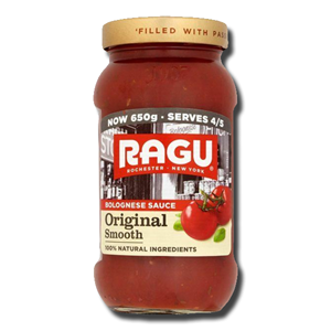 Ragu Original Smoth Bolognese Sauce 500g