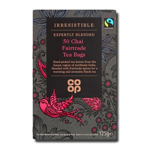Coop Chai Fairtrade Tea 50's