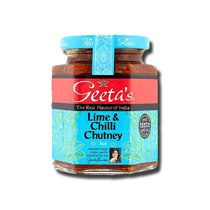 Geeta's Lime and Chilli Chutney Hot 230g