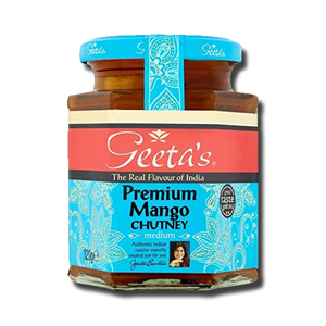 Geeta's Mango Chutney Medium 230g