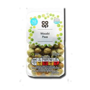 Coop Wasabi Peas 35g