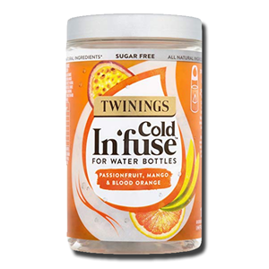 Twinings Cold Infuse for Water Bottles, Passion, Mango & Blood Orange 12' 30g
