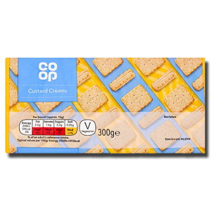 Coop Custard Creams 300g