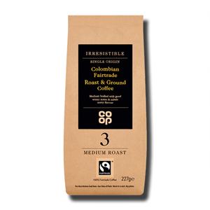 Coop Medium Roast & Ground Coffee 227g