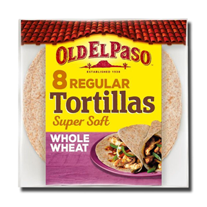 Old El Paso 8 Whole Wheat Tortilla 326g