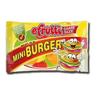 E.Frutti Gummi Build a Burger 40g