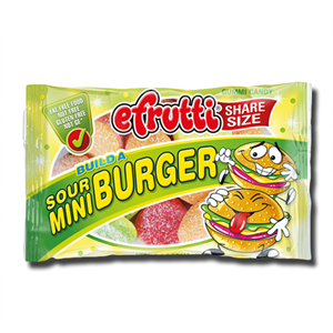 E.Frutti Gummi Build a Burger Sour 40g