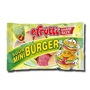 E.Frutti Gummi Build a Burger Sour 40g