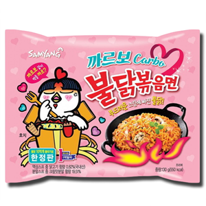 Samyang Carbonara Hot Chicken Ramen 130g
