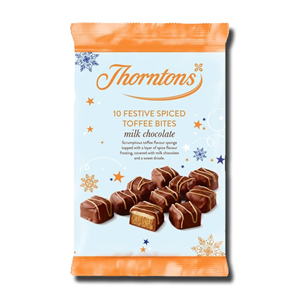 Thorntons Toffee Spiced Bites 10's 145g