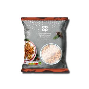 Coop Spiced Salted Caramel Pretzel Stars 150g