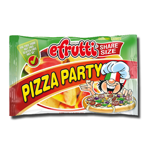 Efrutti Pizza Party 40g