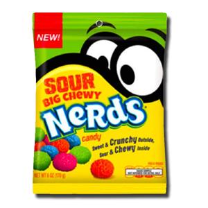 Wonka Nerds Sour Big Chewy Bag 170g