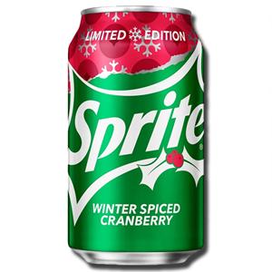 Sprite Winter Spiced Cranberry 355ml
