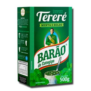 Barão Tereré Erva Mate Menta e Boldo 500g