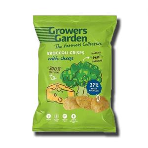 Growers Garden Cheese Broccoli Crisps 22g