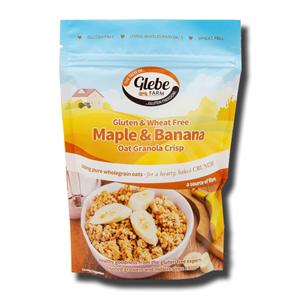 Glebe Farm Gluten Free Maple & Banana Oat Granola 325g