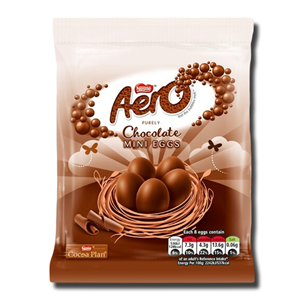 Nestlé Aero Milk Chocolate Mini Eggs 70g