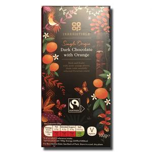 Coop Dark Chocolate Orange Peel 100g