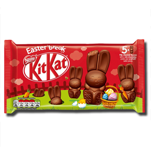Nestlé KitKat Chocolate Bunnies 5x29g