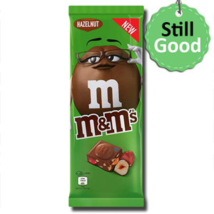 M&M's Chocolate Bar Minis & Hazelnut 165g